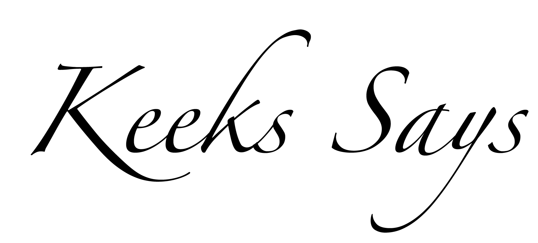 Keeks Says Logo