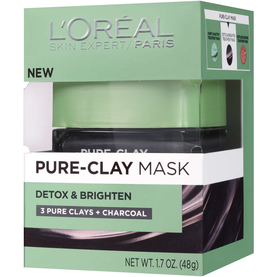 L'Oreal® Paris Detox & Brighten Pure-Clay Mask