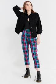 Urban Renewal Remnants Color Pop Plaid Pant